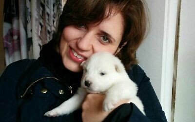 Anna Zamansky and her dog