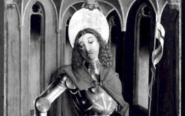 The deptiction of Saint Florian of Lorch