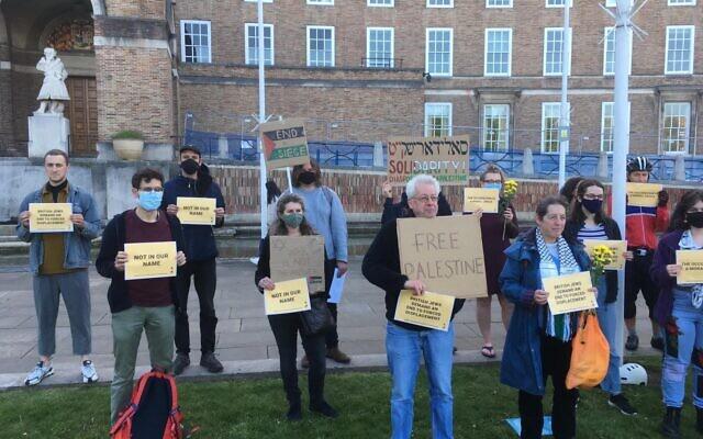 Na'amod protest in Bristol