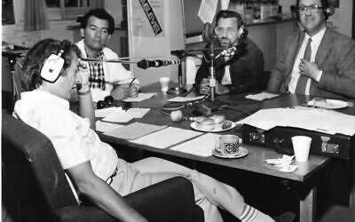 Michael Freedland conceived and presented his iconic radio show, You Don't Have to Be Jewish from 23 May, 1971