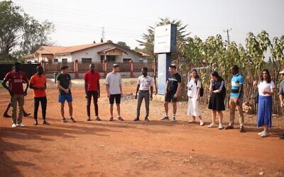 Ben Azzai trip to Ghana in Dec 2019  (Via Jewish News)
