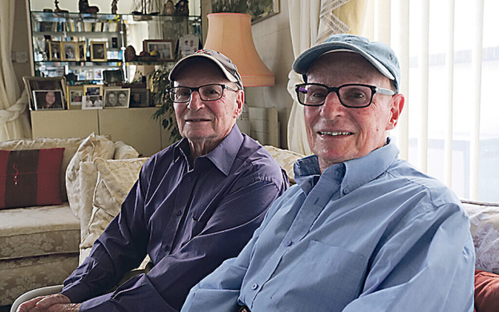 Identical twin brothers George and Peter Summerfield - (C) Blink Films - Photographer: Toby Trackman