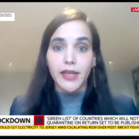 Sharon Ehrlich Bershadsky (Screenshot from Sky News)