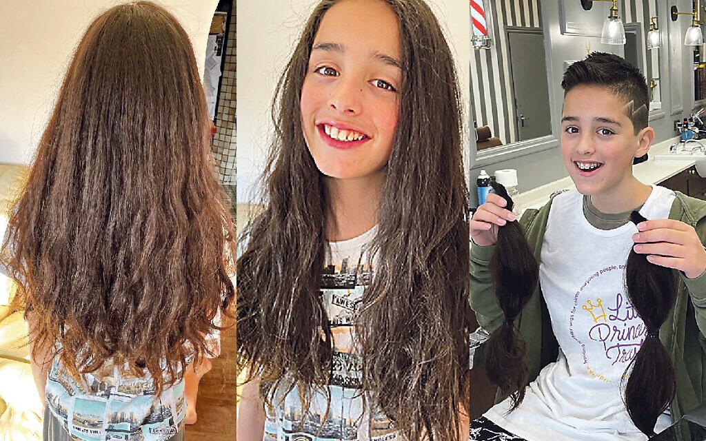 Rapha pre and post haircut!