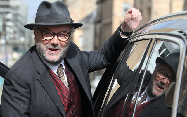 Former MP and veteran campaigner George Galloway