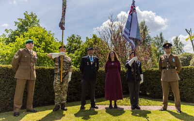 AJEX honours British Jewish Servicemen & women at the annual commemoration service at the NMA in Staffordshire