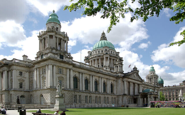 Belfast City Council  (Wikipedia/Sourcehttps://www.flickr.com/photos/macnolete/997055128/ AuthorMacnolete/  Attribution 2.0 Generic (CC BY 2.0)  https://creativecommons.org/licenses/by/2.0/legalcode)