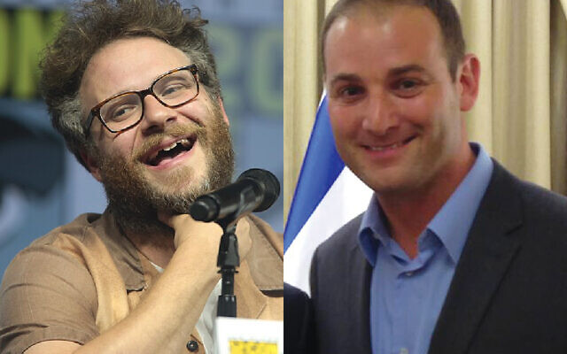 Seth Rogen and Michael Dickson