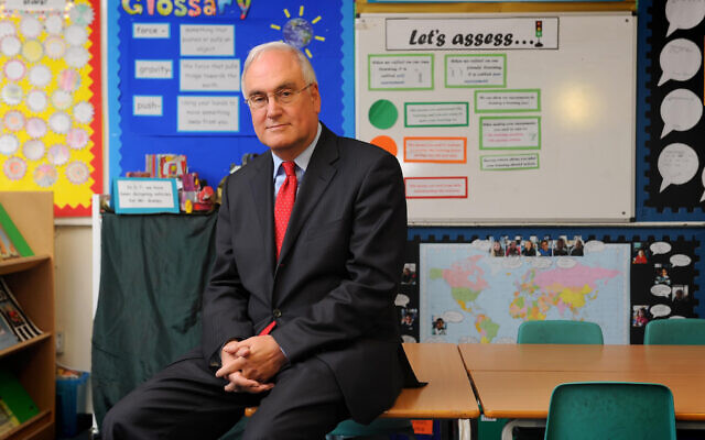 Former Ofsted Chief Inspector Sir Michael Wilshaw, who has taken over at JFS
