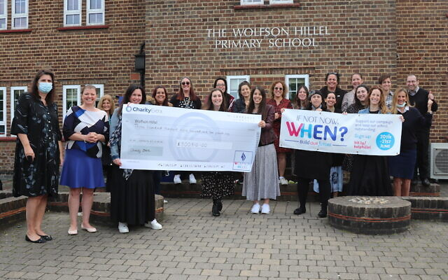 Money raised over the past weekend will go towards essential roof repairs (Image: Wolfson Hillel Primary School)