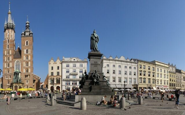 Krakow (Wikipedia /Source and authorAndrzej Otrębski/ Attribution-ShareAlike 4.0 International (CC BY-SA 4.0)  https://creativecommons.org/licenses/by-sa/4.0/legalcode)