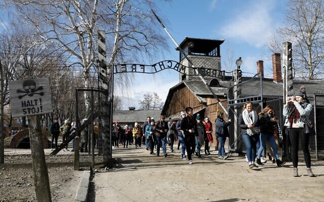The project takes students to Auschwitz to learn about the Holocaust (Image: Holocaust Educational Trust)