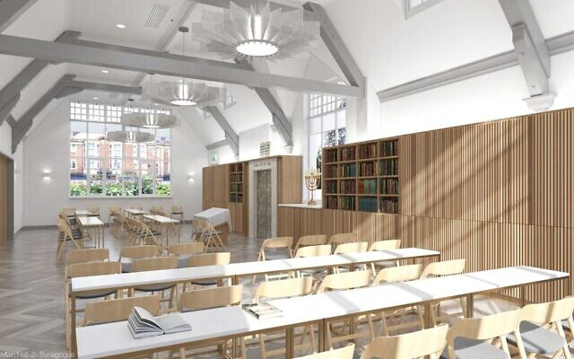 Finchley Federation Synagogue's plans for its main prayer hall