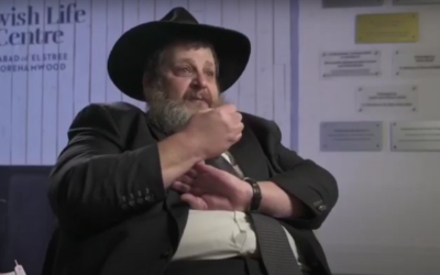Dovid Mitz was just hours from death when his wife Leah promised to undetake a new Sefer Torah if he survived