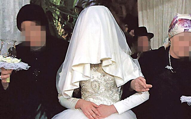 A Charedi wedding. Photo by Yaakov Lederman/Flash90