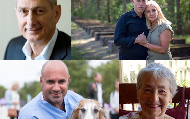 David Dangoor, Rob Rinder & Angela Cohen, Marc Abraham and Edith Jayne