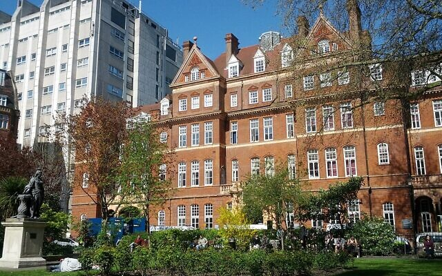 Police are now investigating the antisemitic abuse at the National Hospital for Neurology and Neurosurgery in Bloomsbury