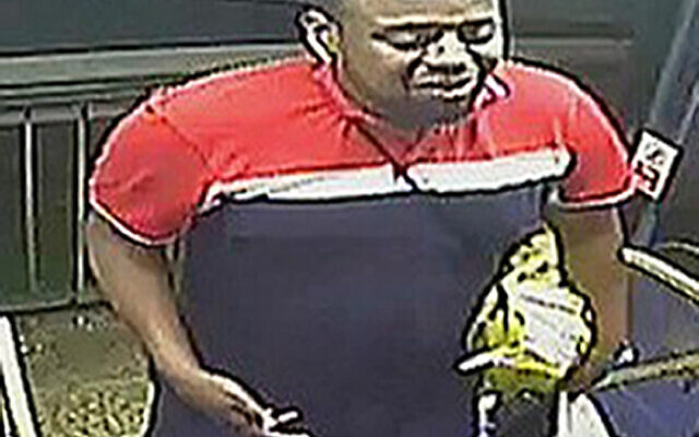 Handout CCTV image issued by Metropolitan Police of the man they would like to speak to after a passenger on a bus in central London was subjected to a torrent of anti-Semitic abuse. The incident happened at around 2333 on Saturday July 3, 2021 where the man was reported to have made anti-Semitic comments and threats towards a man on a route 113 bus near Oxford Circus. Issue date: Tuesday July 20, 2021.