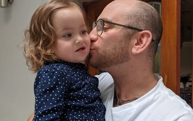 Sammy with her uncle Andy who donated his organ
