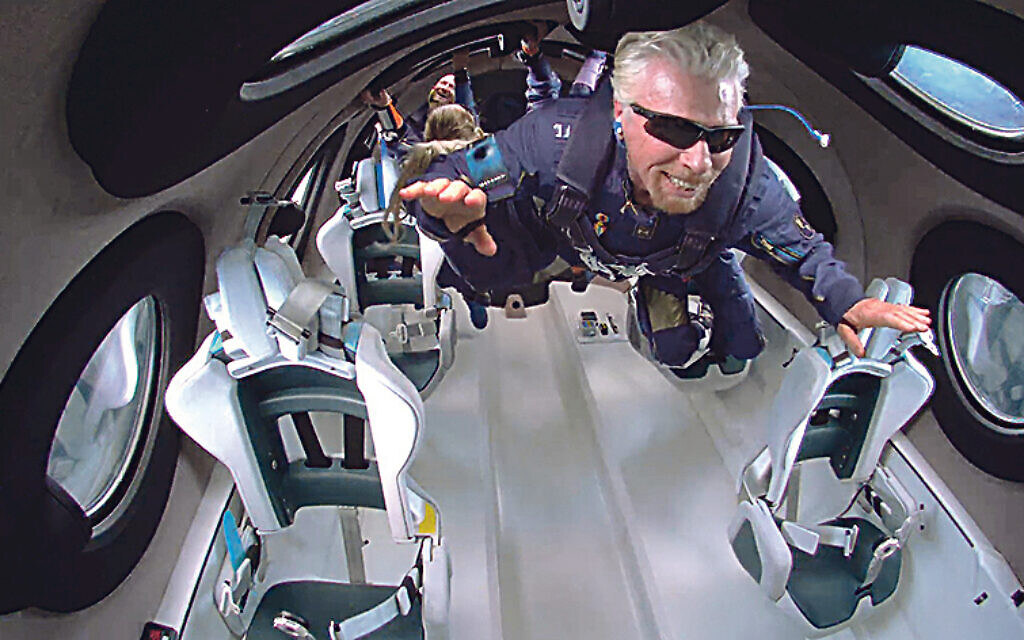 Richard Branson recently flew to the edge of space