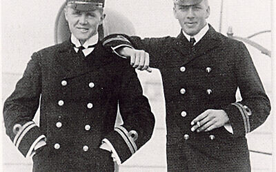 Admiral Sir Max Horton (left) whileserving in the Baltic