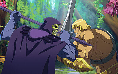 After a cataclysmic battle between He-Man (Chris Wood) and Skeletor (Mark Hamill), the planet of Eternia is fractured and the Guardians of Grayskull are scattered in Masters of the Universe: Revelation