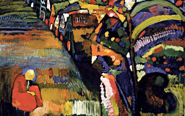 Wassily Kandinsky's Painting with Houses has been fought over in Amsterdam