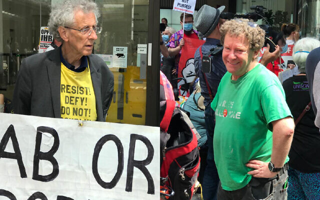 Piers Corbyn addresses protest outside Labour HQ against antisemitism  expulsions | Jewish News