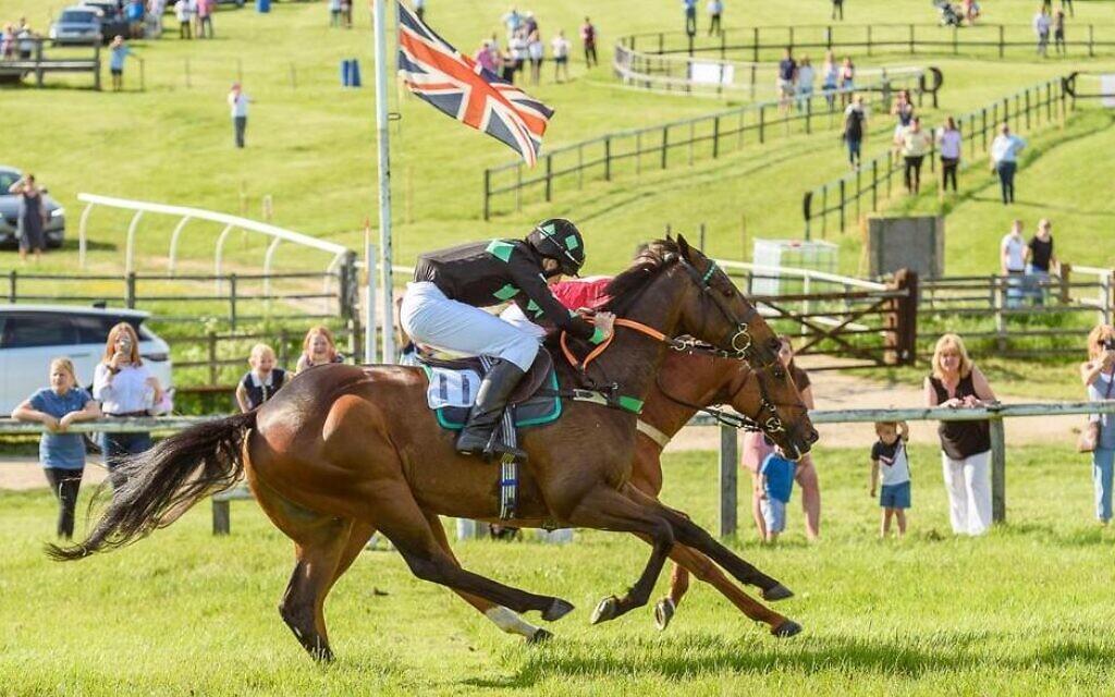 Barnaby Adler riding Bugatti Boy