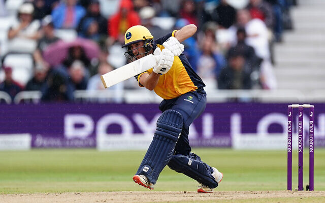 Glamorgan's Steven Reingold batting during the Royal London One-Day Cup Final at Trent Bridge, Nottingham.  (Photo credit: Zac Goodwin/PA Wire.)
