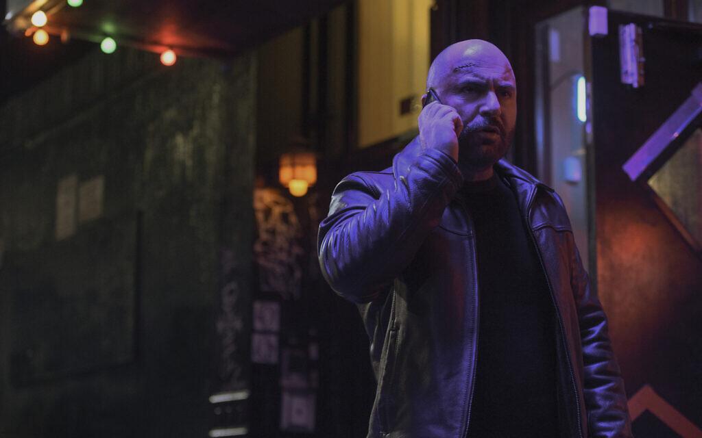 Lior Raz stars as Segev Azulai in new Netflix thriller Hit & Run. Credit: JoJo Whilden/Netflix