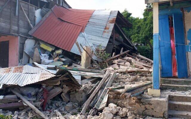 Images taken by WJR's local partner Haiti Survie, which show the devastation on the ground