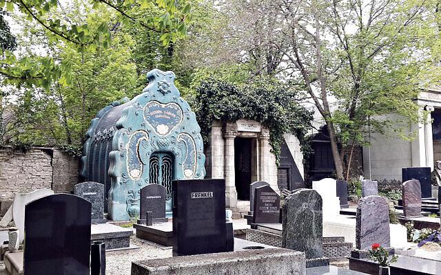 The Jewish cemetery on Kozma Street