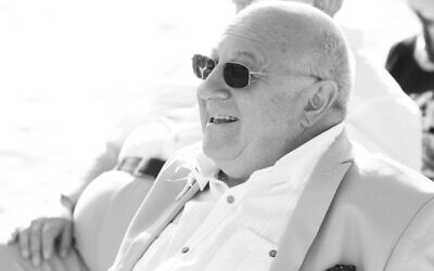 David's father Ivor, who passed away earlier this month.