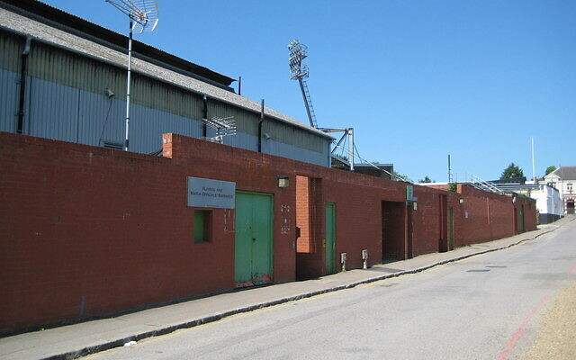 The outside of Watford's ground, Vicarage Road (Nigel Cox / Watford: Occupation Road and Watford FC ground / CC BY-SA 2.0)