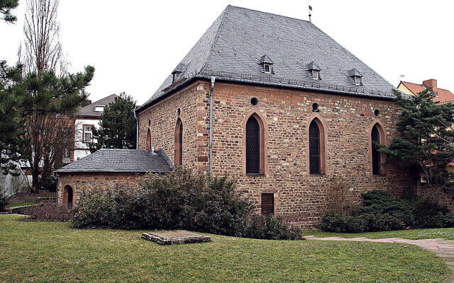 Worms Synagogue Compound now features on UNESCO's World Heritage list