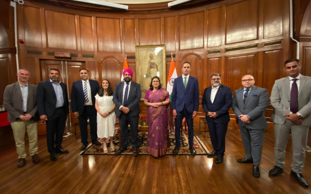 British Indian Jewish Association meet the Indian High Commissioner to the UK