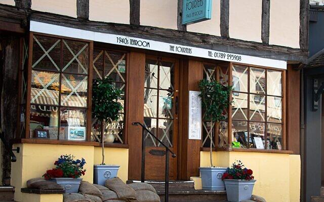 The Fourteas tea room in Stratford-upon-Avon