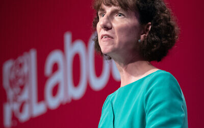 Anneliese Dodds speaking at the Labour Party conference in Brighton. Picture date: Saturday September 25, 2021.