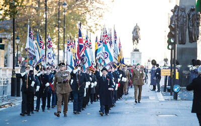 AJEX remembrance parade 2018