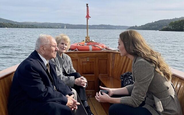 The Duchess of Cambridge spent time in the Lake District with Arek Hersh and Ike Alterman