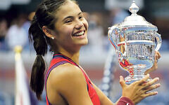 Emma Raducanu, the US Open CHAMPION!
