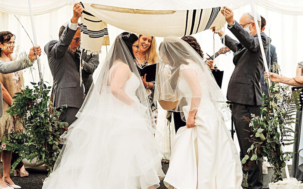 Rabbi Anna Posner and Cantor Tamara Wolfson