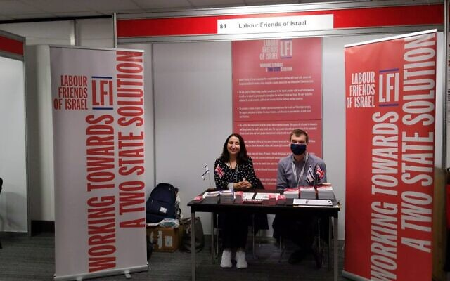 LFI's stand at Labour conference