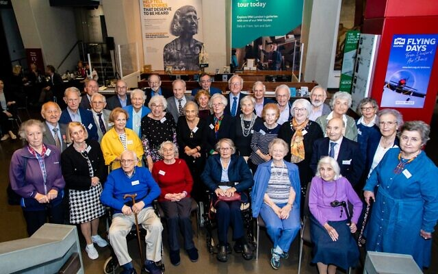 Holocaust survivors gather at the Jewish News sponsored event (© Derryn Vranch / Royal Photographic Society)