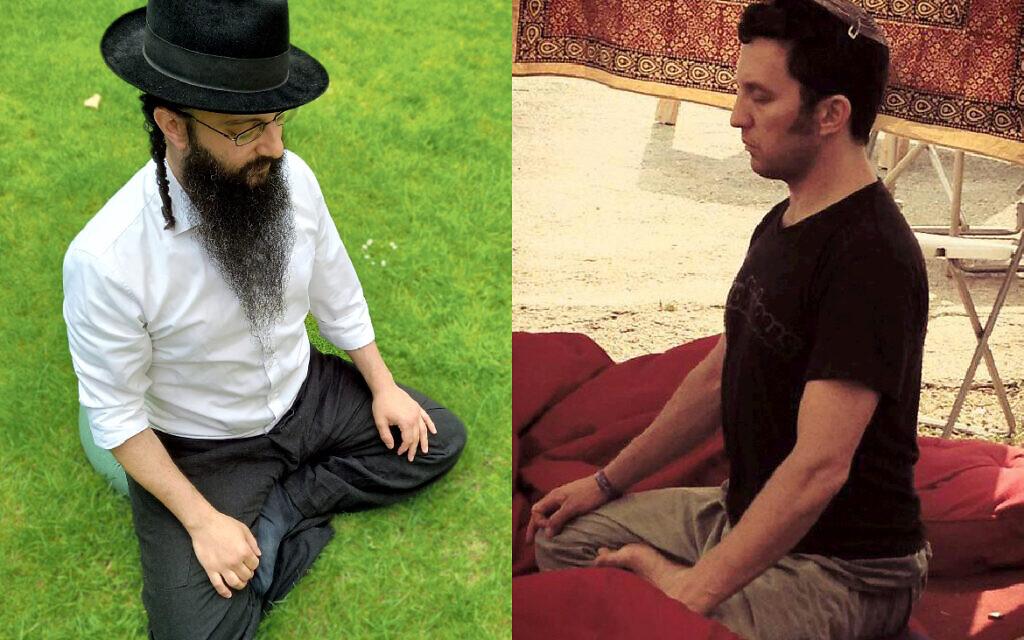 Rabbi Daniel Gigi and certified rabbi, author Marcus J Freed,
