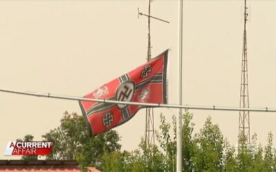 Australia's Nine Network last year exposed a neo-Nazi who flew a swastika outside their home in the rural Victoria town of Beulah