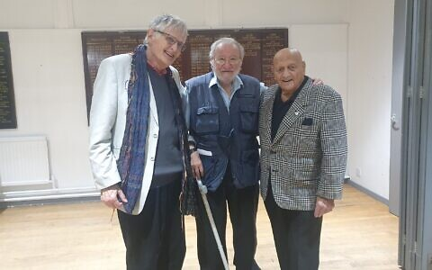 Ivo Mosley, Sam Needleman and Harry Kaufman at Thursday's event