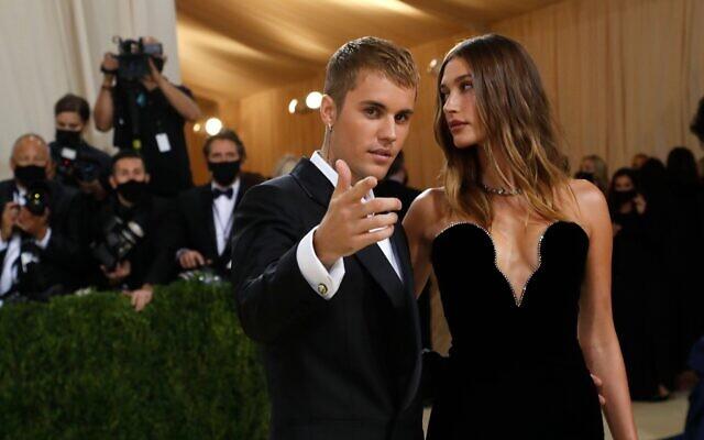 Justin Bieber and Hailey Bieber. REUTERS/Mario Anzuoni