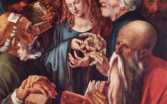 The 1509 painting Christ Among the Doctors, by Alfred Durer, was removed from gallery's website ahead of new exhibition over antisemitic portrayal of Jews